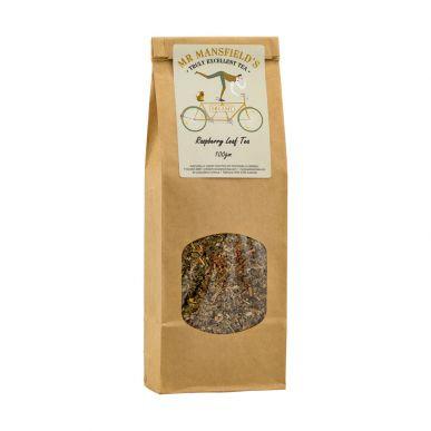 Mr Mansfield's Raspberry Loose Leaf Tea