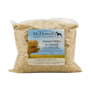 Ground Millet and Linseed Dog