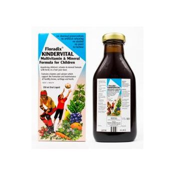 Floradix Kindervital Multivitamin and Mineral Formula For Children 250ml